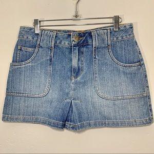 Mossimo | Light Wash Denim Mini Skirt